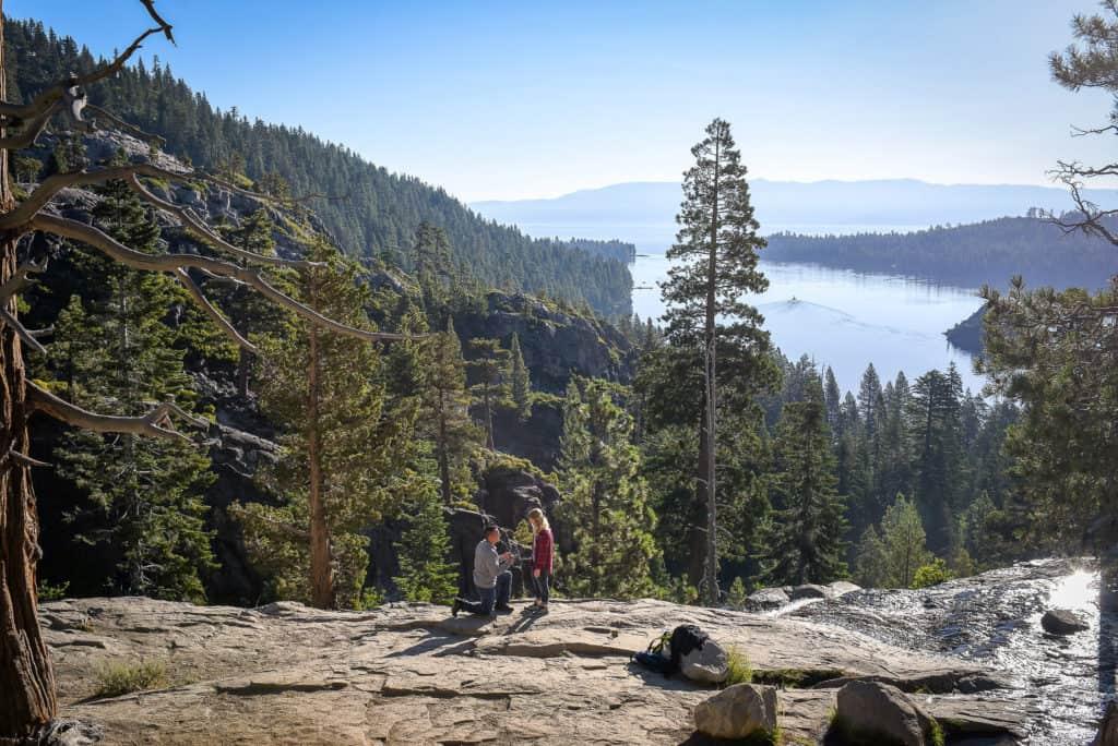 Proposal Photographers Lake Tahoe