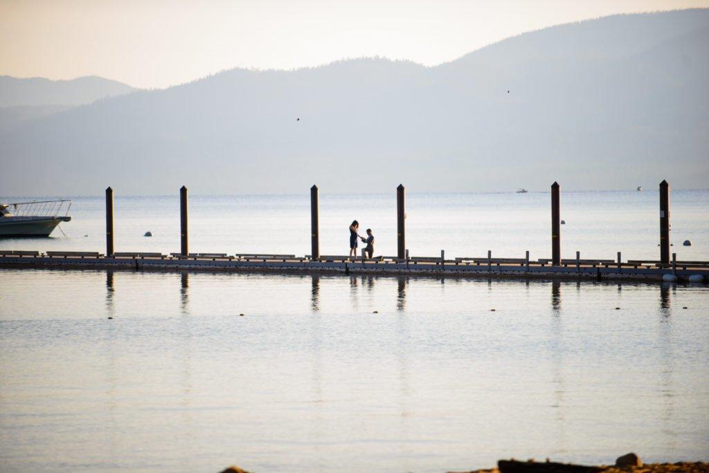 Lake proposal photos