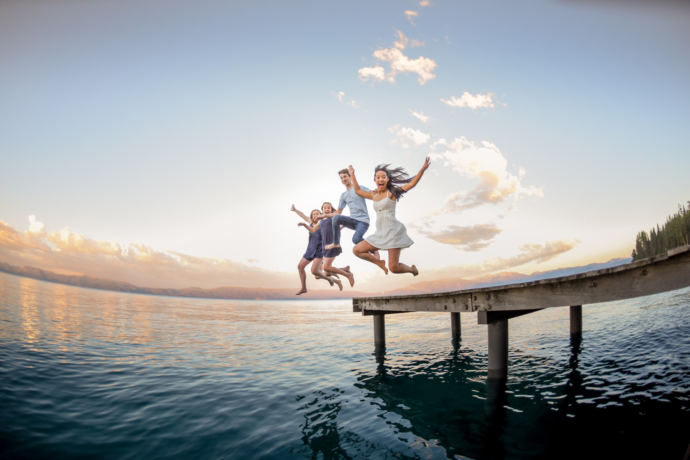 dock jumping photos tahoe