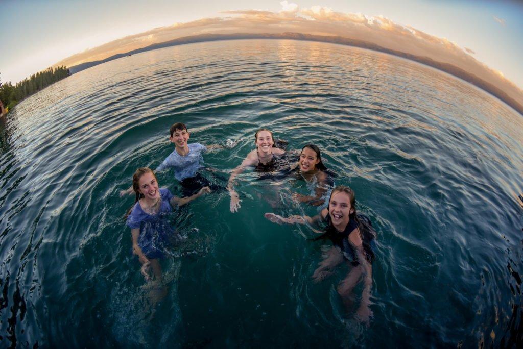teenagers lake tahoe