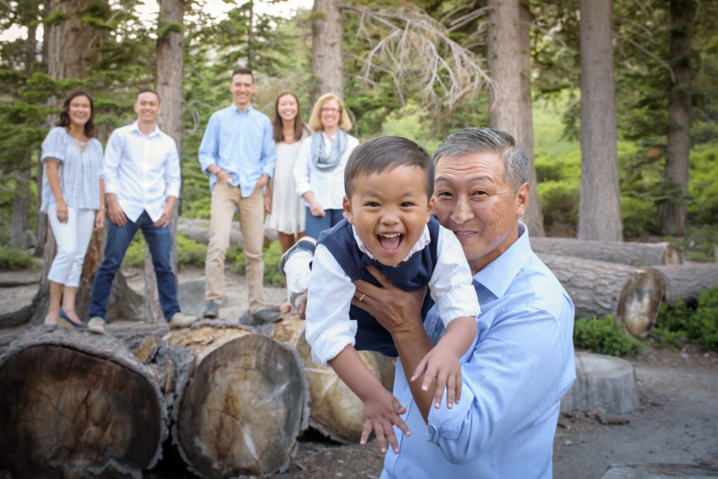 family photos lake tahoe