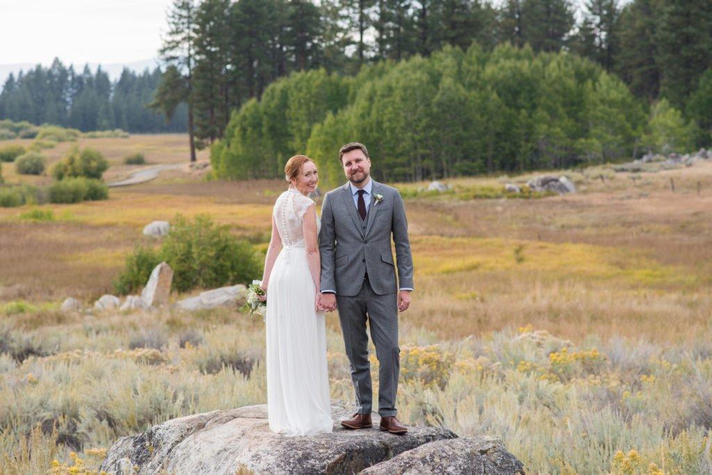 meadow wedding photos