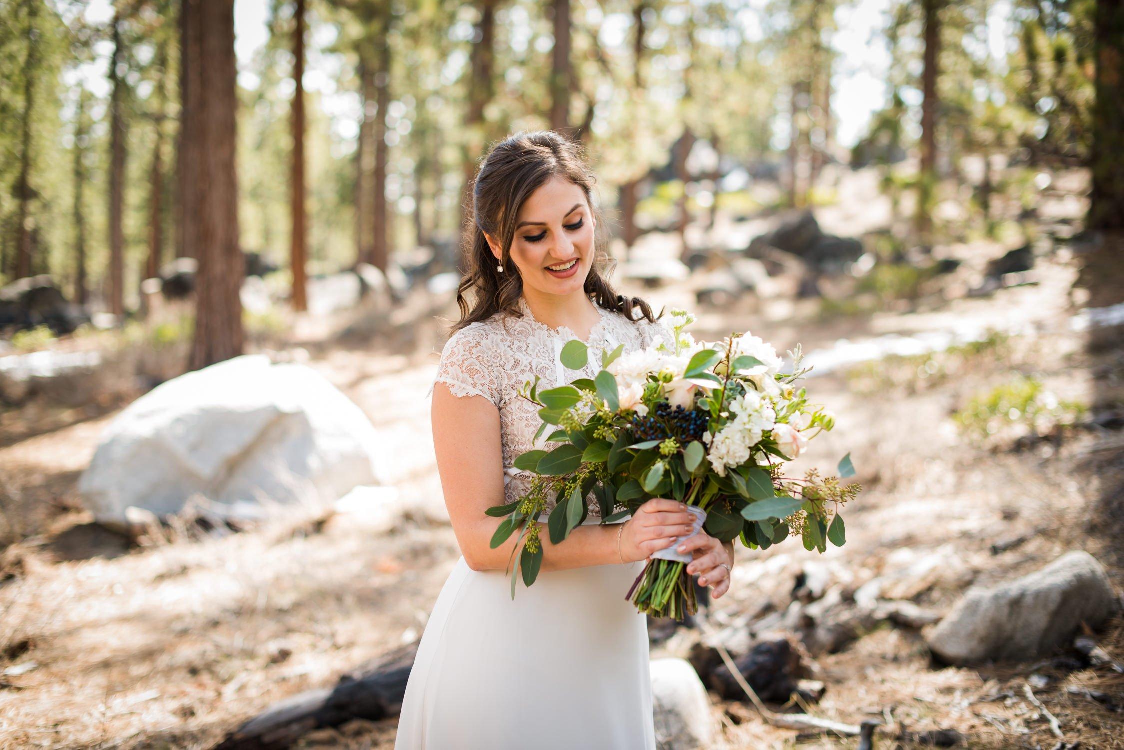 Lake Tahoe Wedding Flowers