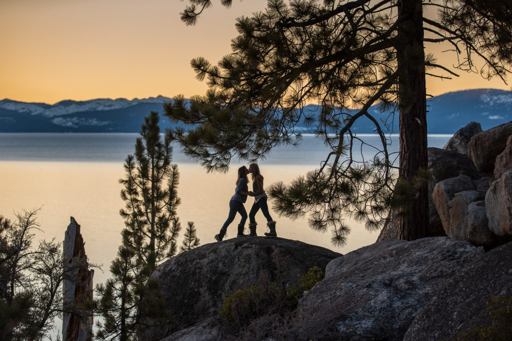 Sunset Kiss Photo