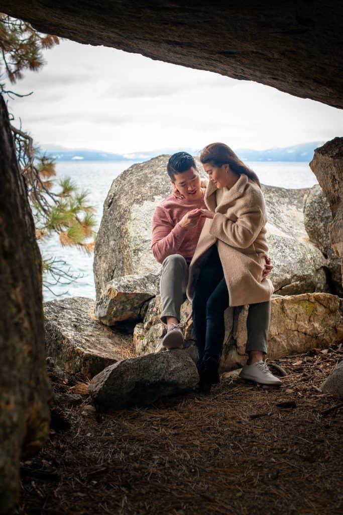 Lake Tahoe Proposal Photos