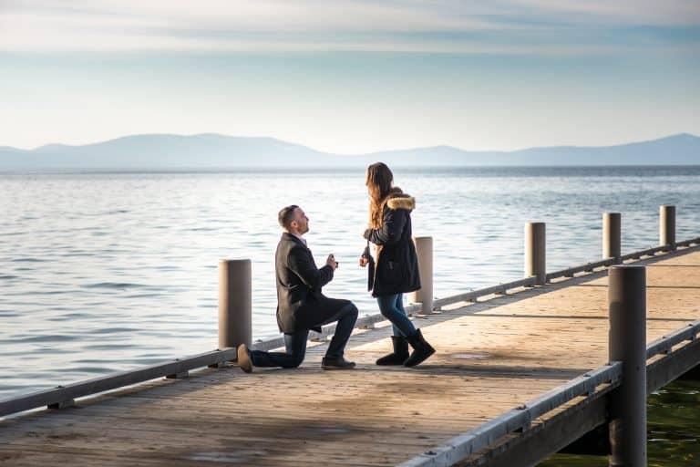 Lake Tahoe Surprise Proposal