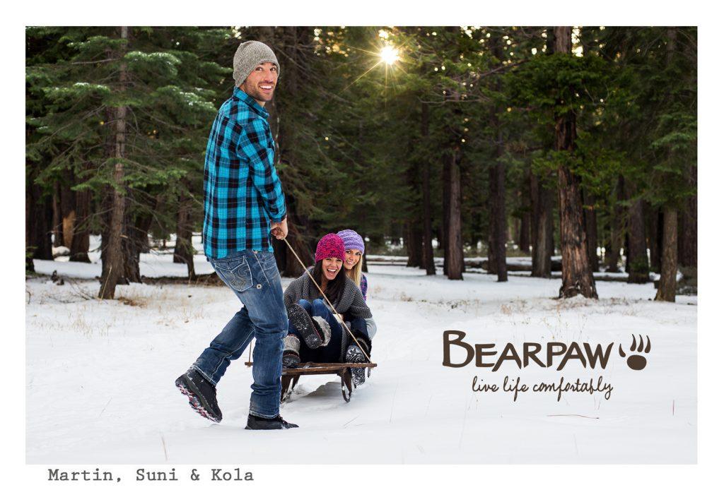 Bearpaw Sledding
